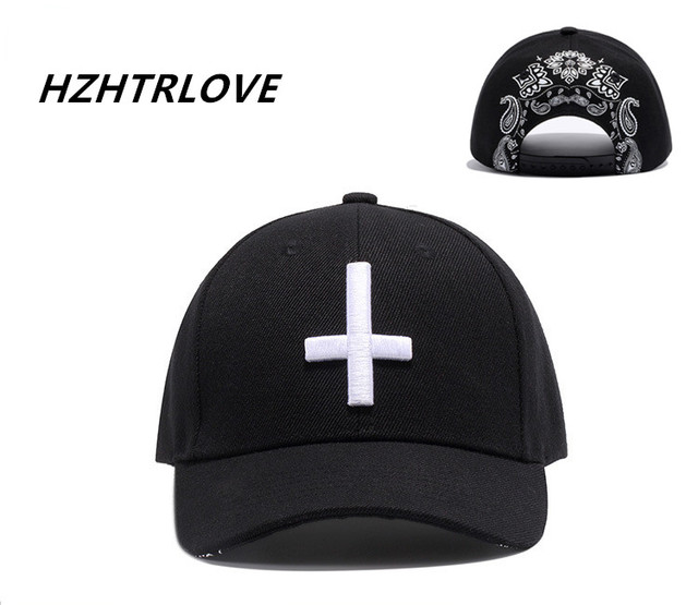 High Quality Cross Printing Snapback Men Women Leisure Baseball Cap Hip Hop Dad  Hat Flat along 425f0a89dd3e