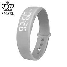 2017 Neue SMAEL Nouveau Produit Smart LED Multifonctionnel Montre Intelligence Horloge noopsyche Uhren Intelligente Table De Mode SL-W5