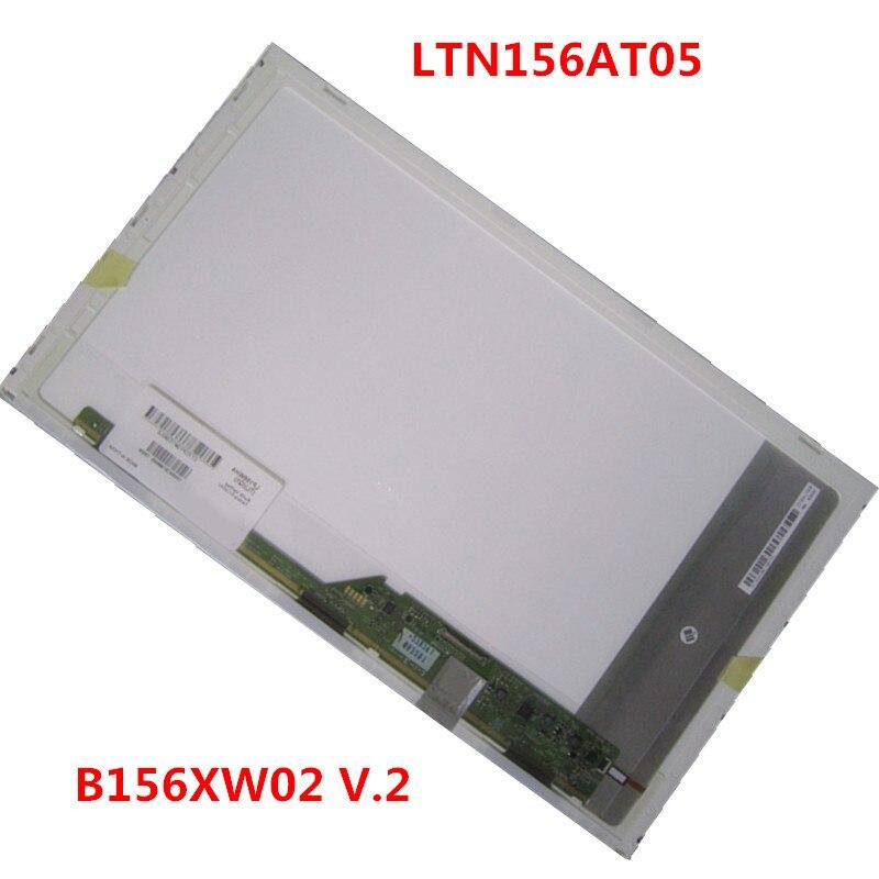 ФОТО 100% compatible LCD Screen B156XTN02.2 B156XW02 V.2 LP156WH2 TLA1 N156BGE-L21 LP156WH4 TL A1 LTN156AT05 LTN156AT24 LTN156AT27