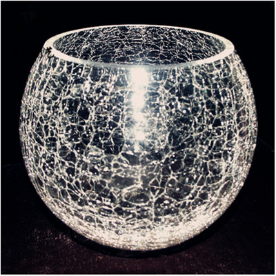 Free Postage Exquisite Creative Broken Glass Vase Ice Ball Shaped