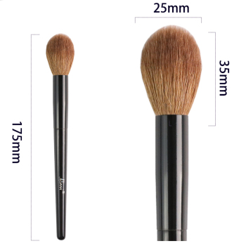 Ailinmi WG-SERIES Face Brushes - Fluffy-Cheek 14 Tapered-Face 21 Angled-Contour 22 Tapered-Highlight 23 - Makeup Blending Tools 6