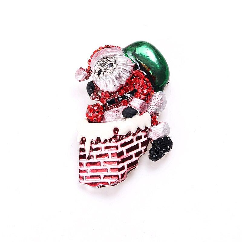 Новые Марка Высочайшее Качество Earrrings Для Женщин Санта-Клаус Серьги Стержня Ювелирных Изделий Способа для Новый Год Рождественский Подарок Украшение Партии
