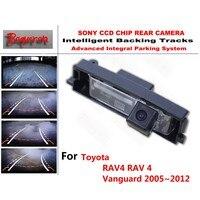 Vanguard 2005 ~ 2012 Toyota RAV4 RAV 4 için CCD Araba Yedekleme Park Kamera Akıllı Tracks Dinamik Rehberlik Dikiz kamera