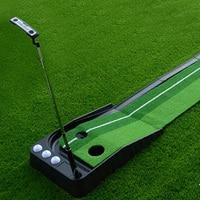 High quality Ball Return Pratice Putter indoor golf green Putting green