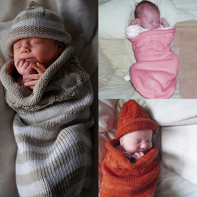 Newest Winter Keep Warm Newborn Baby Blanket Swaddle Sleeping Bag