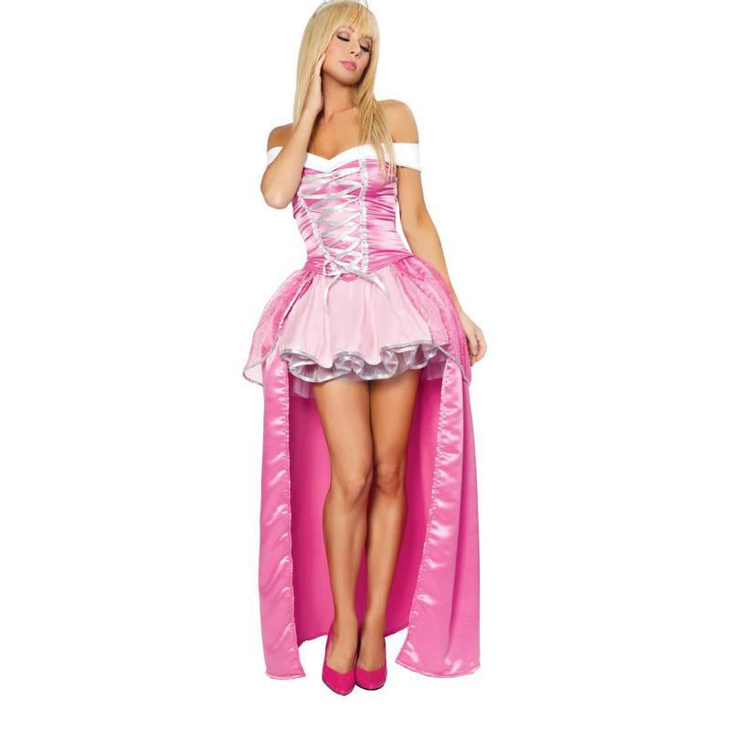 Party Blue Fairy Tail Cosplay Hot Sexy Cinderella Costume Adult ...
