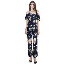 Casual Fashion Women 2 Pieces Set Chiffon Floral Print Shirt Blouse + Loose Wide Leg Pant
