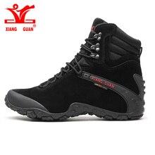 Xiang Guan Sport Taktische Männer Stiefel Neuen Verschleißfesten Camping Sneakers Schwarz Klettern Wasserdichte Stiefel Frauen Wandern Schuhe