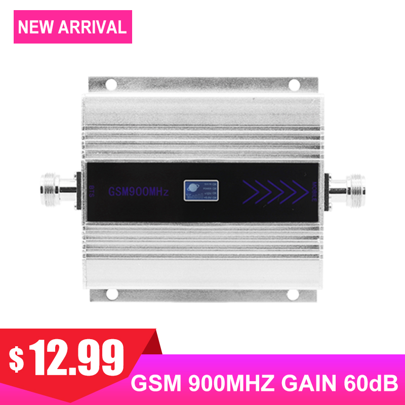 GSM 900MHZ 2G Cellular Signal Amplifier Mini Size LCD Display Cell Mobile Phone Payload Signal Internet Communication Repeater /