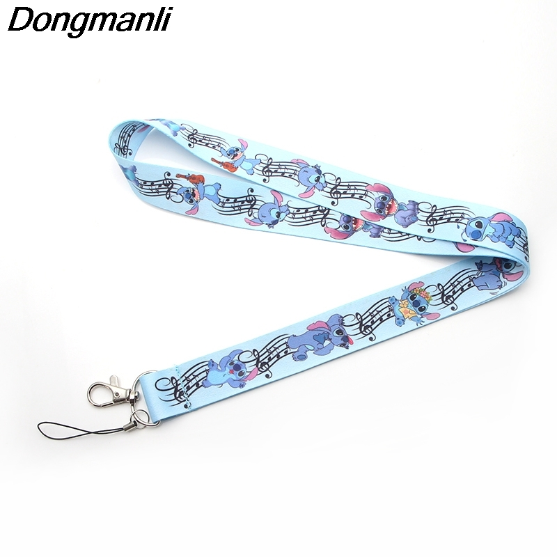 Jewelry & Accessories P2819 Dongmanli Wholesale 24pcs/lot Alien Cute Stich Lanyard Badge Id Lanyards/ Mobile Phone Rope/ Key Lanyard Keychain For Key Convenience Goods
