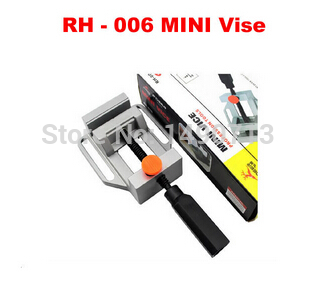 RH - 006 mini vise Parallel-jaw vice table vice Can use distribution drill stand hot mini electric drilling machine variable speed micro drill press grinder 1pc bg 5168e 1pc bg6300 1pc 2 5 parallel jaw vice