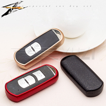 TPU Car Key Bag Shell Cover Shell Key Case For Mazda 2 3 6 CX5 CX7 CX-4 CX9 ATENZA Axela 323 626 Family Accessories Wallet Key стоимость