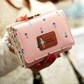 Fashion Flower Women Wallet Candy Colors Purse 6 Colors Cute Wallet Ladies Long Day Clutch Coin Purse