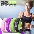 DADOS de NOVO! melhor preço t5s esportes calorias pedômetro pulseira inteligente pulseira relógio pulseira para huawei para lg top quality 21mar