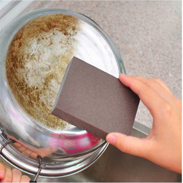 Kitchen Cleaning Eraser Pot Nano Melamine Sponge Cleaner Multi-functional Descaling Stains Sand Sponge Household Cleaning tools