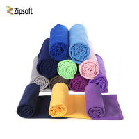 Zipsoft Microfiber Swimming Towels Hot Yoga Towel Fast Dry Beach Towel Fun Logo Pool Towels Camping