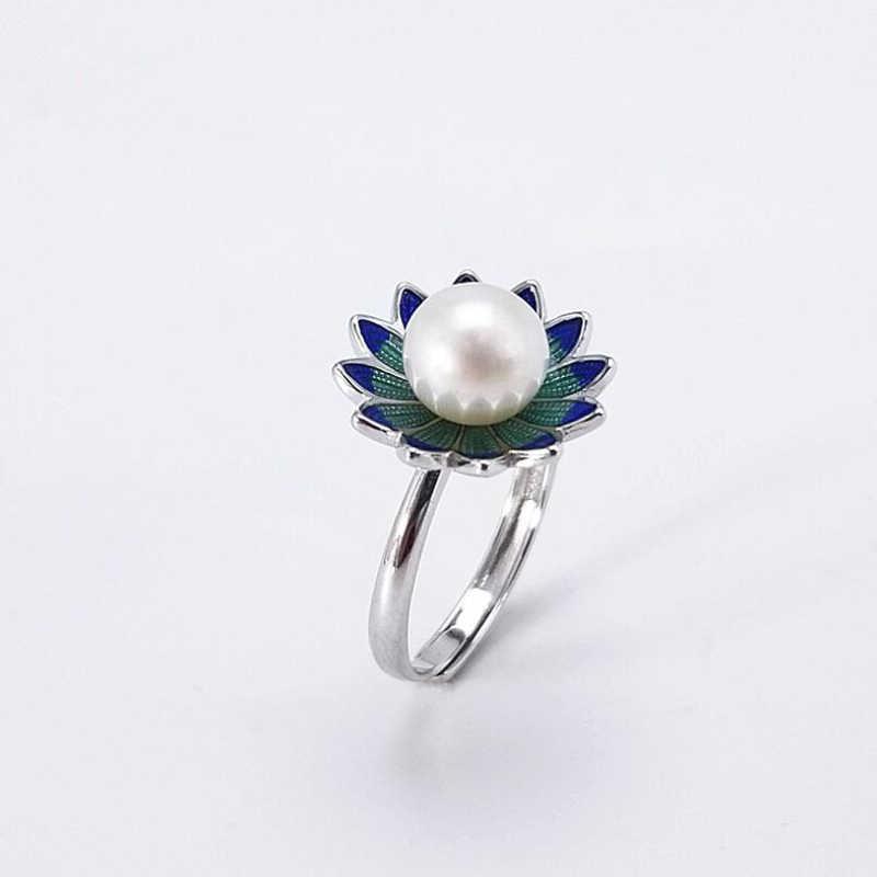 [MeiBaPJ] Moda Personalidade Simples AAA Zircon Flowe Lotus Set 925 Brincos de Prata & Colar & Anel de Jóias Finas conjuntos Para As Mulheres