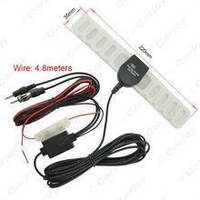 Auto 2IN1 TV/FM TV Antenne Radio Antenne Verstärker + Booster # CA892