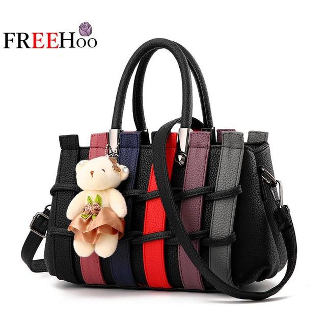 2017 new brand fashion sweet patchwork trend mosaic bolsos shoulder Crossbody handbag women messenger bags