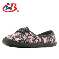 LIBANG Shallow Flat Shoes Women With Flowers Print Soft And Comfortalbe Designer Shoes Women Luxury 2017
