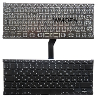 RU Black New Russian For AppleForMacbook Air 13 3inch A1369 A1466 A1405 MC965 Laptop Keyboard