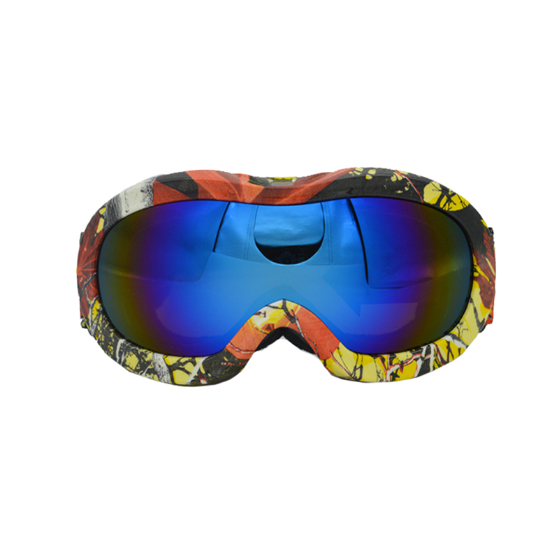 Full-frame Ski Glasses Double-layer Anti-fog Professional Snow Goggles Outdoor Sports Wind Mirror Multi