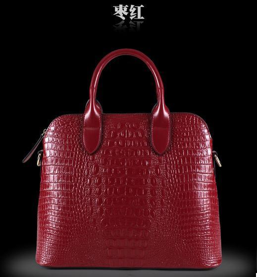 2016 Luxury Designer Women Black Handbags Genuine Leather High Quality Casual Cross-body Female Tote Fashion Messenger Bag