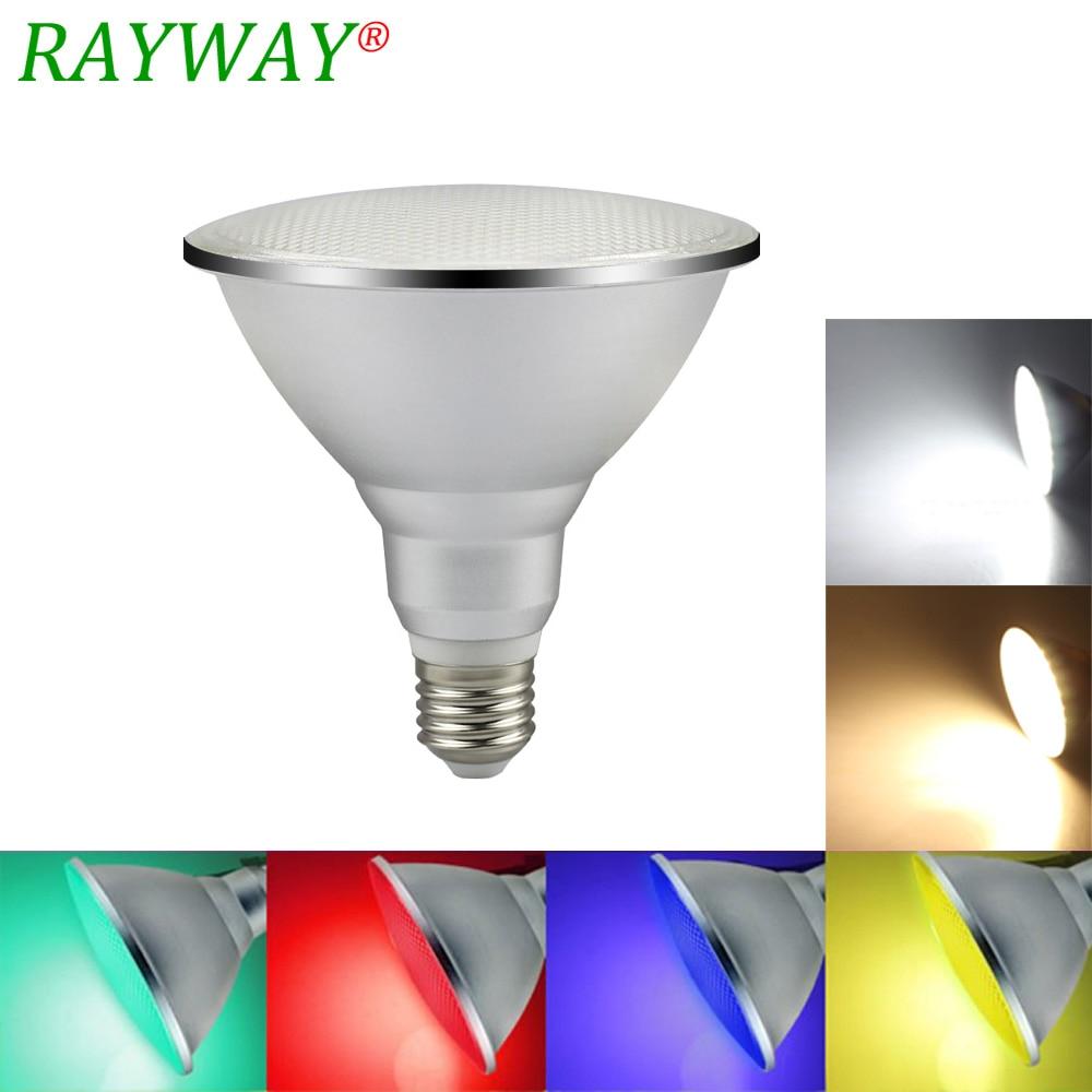20 w e27 par38 ip65 a prova d agua ao ar livre led spot light bulb