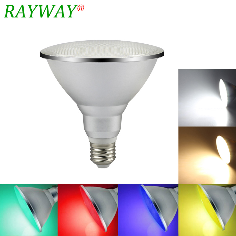 20W E27 PAR38 Waterproof Outdoor IP65 LED Spot Light Bulb AC85-265V Indoor Lighting Lamp RGB Warm White Ampoule Spotlights
