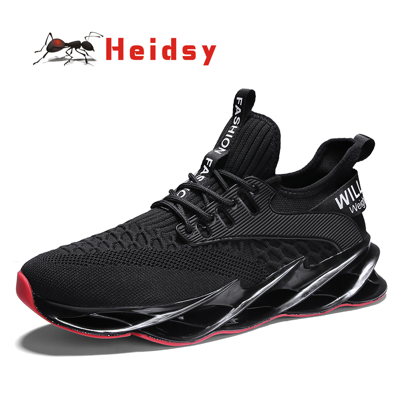 Spring Autumn New Men Sneaker Light Comfortable Casual Shoes Beautiful Cut Out Sole  Non-slip Wearable Mens Fitness Shoes 39-44