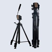 Nuevo Equipo Fotográfico Trípode Yunteng VCT-880 placa de Aluminio para Canon y Nikon Micro Slr Cámara Trípode