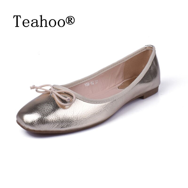 Elegant Bowtie Women Flats 2017Fashion Boat Shoes Woman Dress Flats Casual Brand Single Shoes Ladies Ballerina Flat Plus Size 41 plus size 34 43 new platform flat shoes woman spring summer sweet casual women flats bowtie ladies party wedding shoes