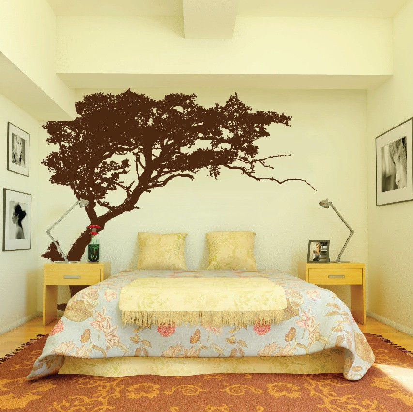 Large Wall Tree Nursery Decal Detailed Wall Art Sticker Family ...