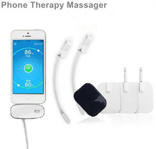 Ease Muscle Pain Mini Phone Therapy Messager Biological Physiotherapy with software apply to shoulder,waist, knees, arm and leg