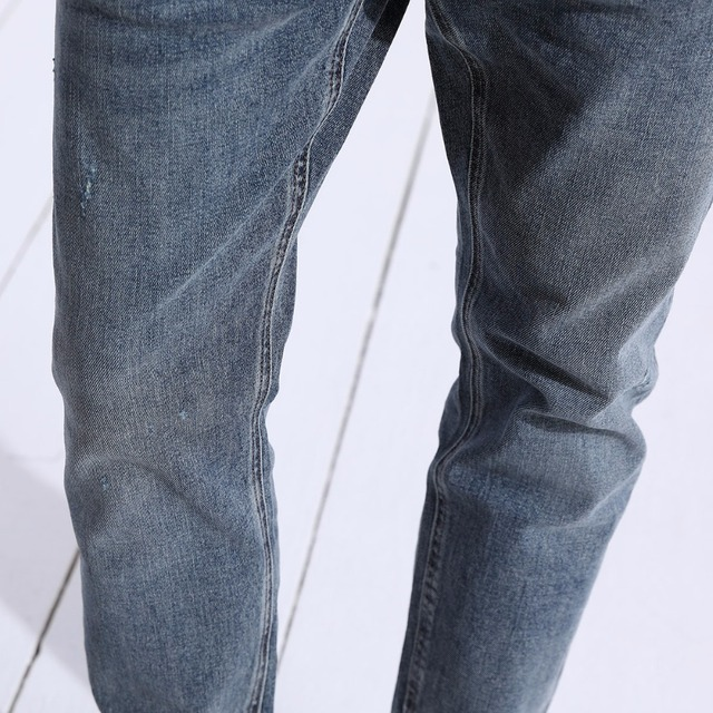 SIMWOOD Hot Sale 2018 Jeans Men New Fashion Casual gloria jeans Slim Straight Male Plus Size Denim Trousers High Quality 180306