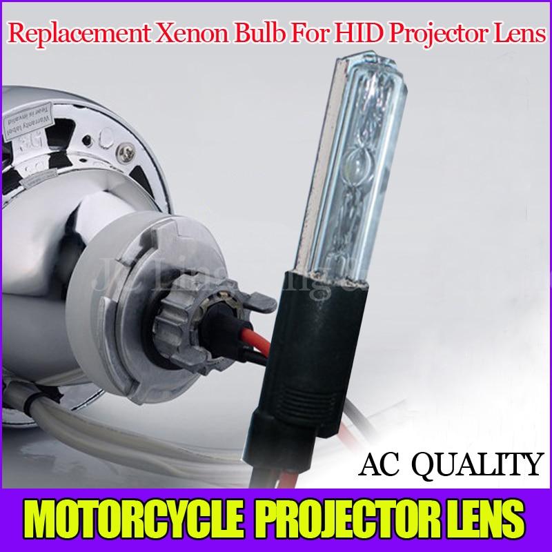 Sostituzione speciale Xenon Lampadina Per auto/moto NASCOSTO l'obiettivo del proiettore allo xeno della lampada della lampadina 55 W 3000 k 4300 k 6000 k 8000 k 10000 k 12000 k