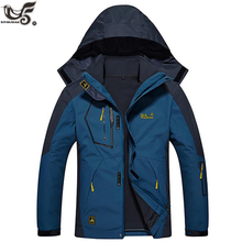 XIYOUNIAO plus size L~6XL 8XL winter jacket men outwear 2 in