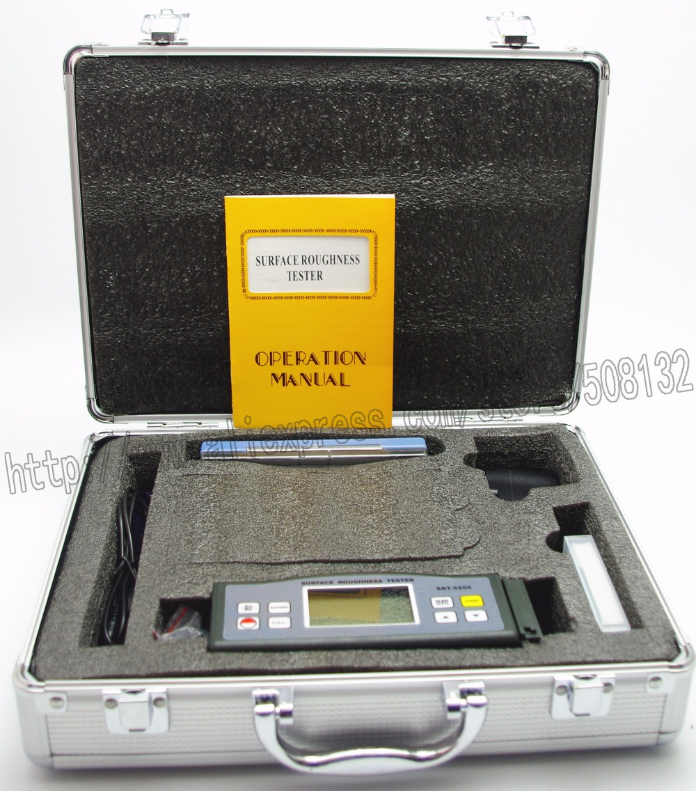 LANDTEK SRT6200 Multi-parameter Digitale Tragbare Oberfläche Rauheit MeterTester Gauge Metric Kaiser SRT-6200 (Ra/Rz, 10um Pin)