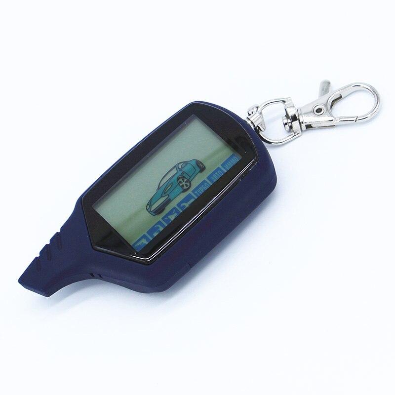 imágenes para Envío libre LCD del mando a distancia para el sistema de alarma del coche de dos vías StarLine A61 versión rusa LCD remoto de $ number vías de alarma de coche