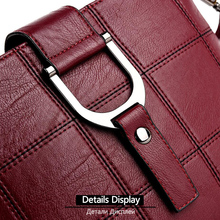 Women's Shoulder Bag Leather Crossbody Messenger Bag Ladies Handbags