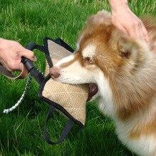 Кинологический игрушка прочные ПЭТ укус Перетягивание Каната интерактивные игры игрушки для наружной Путешествия Спорт для среднего большой собаки