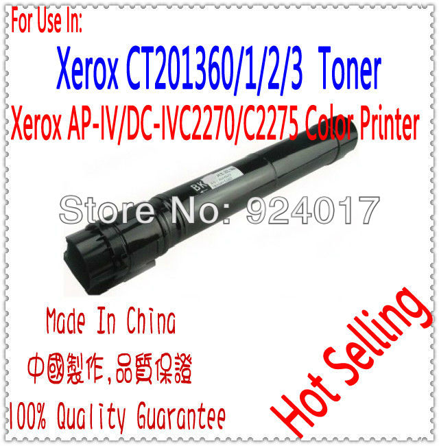 For Xerox ApeosPort-IV DocuCentre-IV C2275 C3375 C4475 C5575 C6675 C7775 Toner Cartridge,CT201370 CT201371 CT201372 CT201373 стоимость