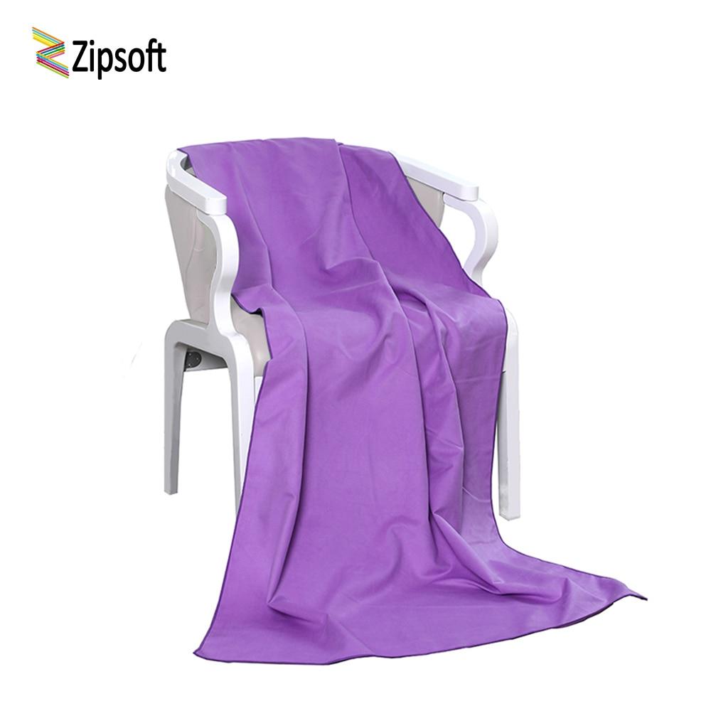 Zipsoft Brand Beach սրբիչ Microfiber Լոգարանի - Տնային տեքստիլ