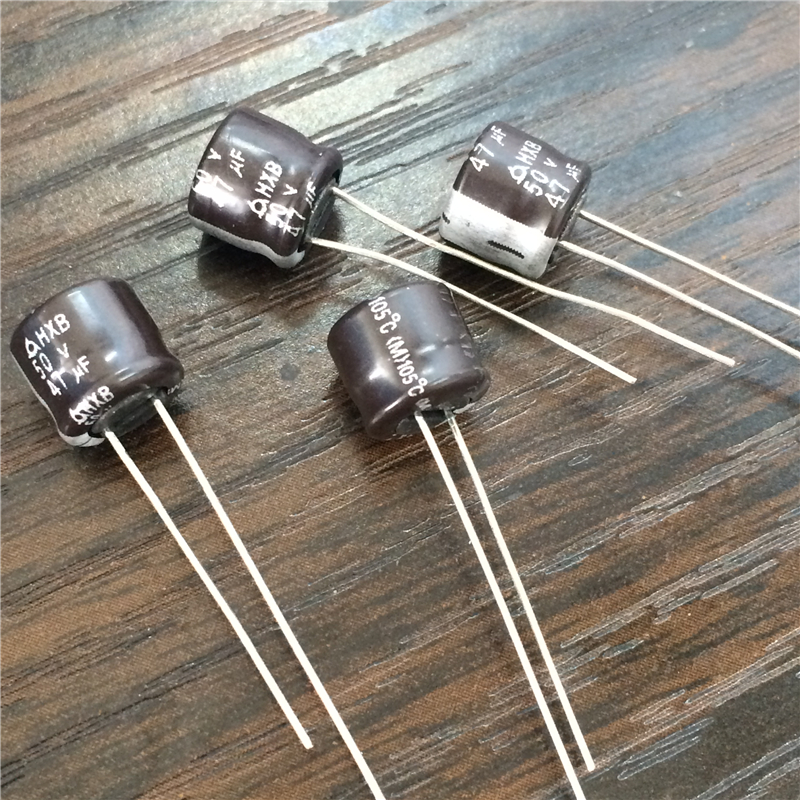 47uf 50v NCC Radial Electrolytic Capacitors  50v47uf 20pcs