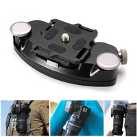 1pc Quick Release Aluminum Waist Belt Strap Buckle Holder High Quality DSLR Camera Button Mount Clip