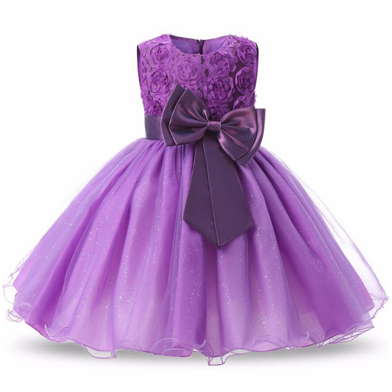 2018 Summer Girls Dress Infant Party Wedding Dress For Girls Kids ...