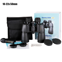 Professional military Zoom Binoculars 10-22×50 Hunting Telescope Bak4 Prism Hd Portable Lll Night Vision binocular for Camping
