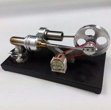 Купить онлайн Двигатель Стирлинга генератор Модель Мужская подарок на день рождения физическое моделирование эксперимент физическая модель прямая Бесплатная доставка