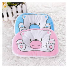 Newborn Infant Baby Pillow Support Cushion Pad Prevent Flat Head Crib Cot Bed(China)