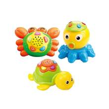 Cartoon Sea Animal Shape Projector Early Education Story Rotating Machine Baby Toy For Children Gift(China)